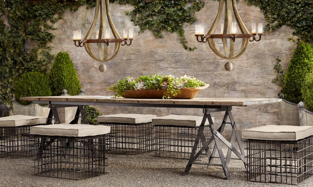 Elegant Restoration Hardware Furniture Outdoor