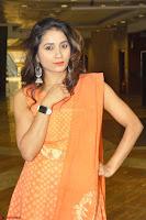 Bhanu Priya in Oreange Ethnic Anarkali Dress 15.JPG