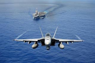 Jet Tempur F/A-18 Super Hornet Amerika Serikat