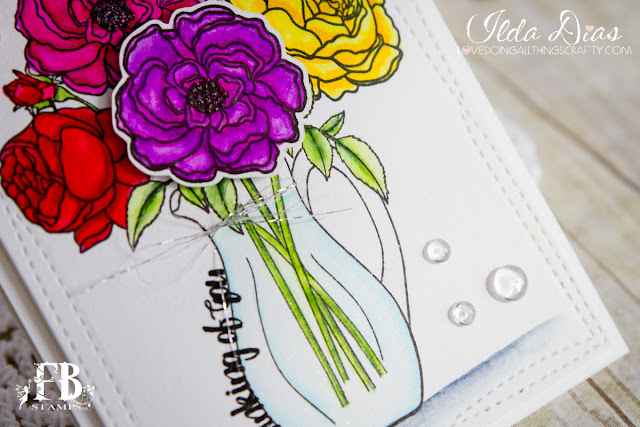 Thinking Of You Posies Bouquet by ilovedoingallthingscrafty