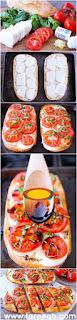 بيتزا التوست بالجبن