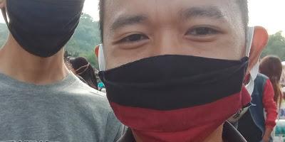 Gak Usah Pake Masker, Aku Tidak Takut Corona