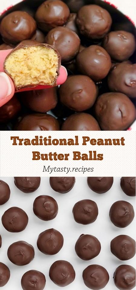 Traditional Peanut Butter Balls
