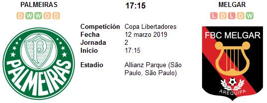 Palmeiras vs Melgar en VIVO