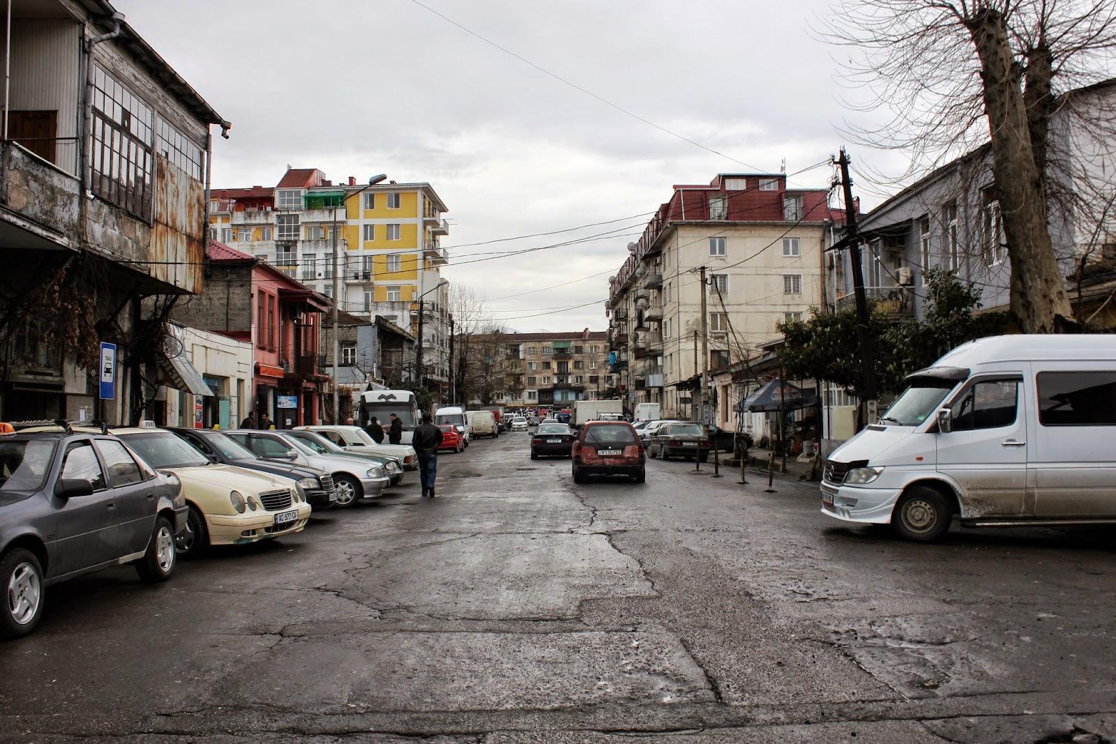 życie w batumi Gruzja