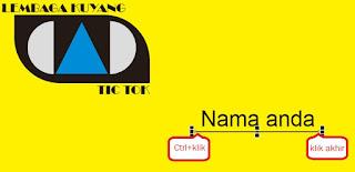 Cara Mendesain kartu Nama