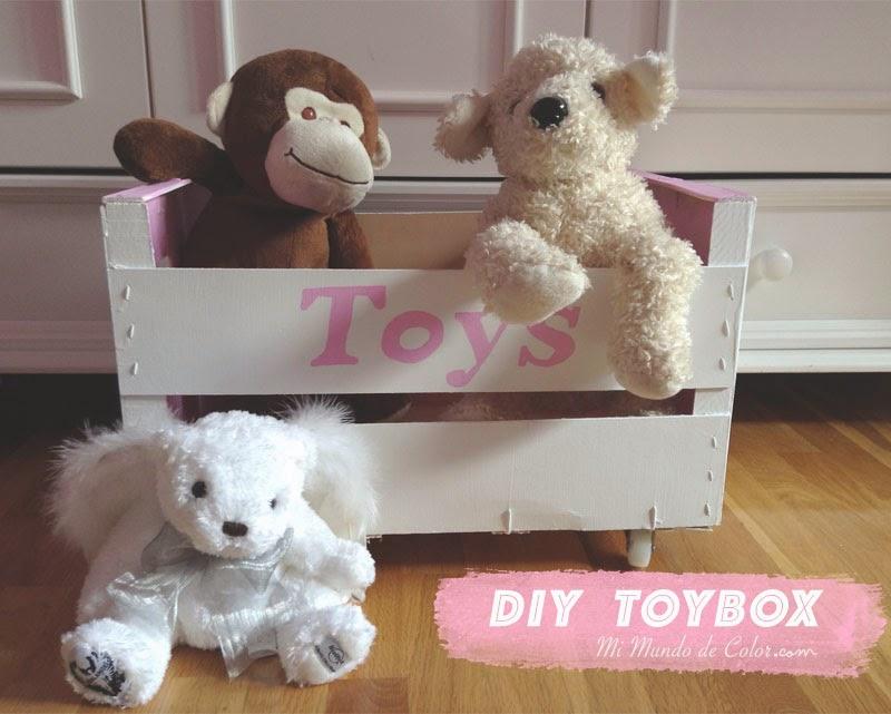 hacer una caja de juguetes