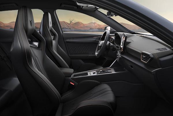 Cupra Formentador VZ5 terá assentos exclusivos de competição - fotos