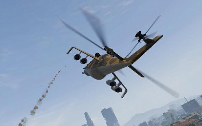 俠盜獵車手 5 (GTA 5) 小鳥直升機躲導彈教學   娛樂計程車