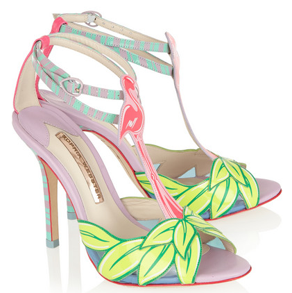 sophia webster flamingo sandal