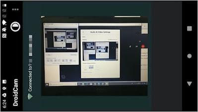 تحويل, كاميرا, هاتف, اندرويد, الى, كاميرا, ويب, للكمبيوتر, بإستخدام, DroidCam