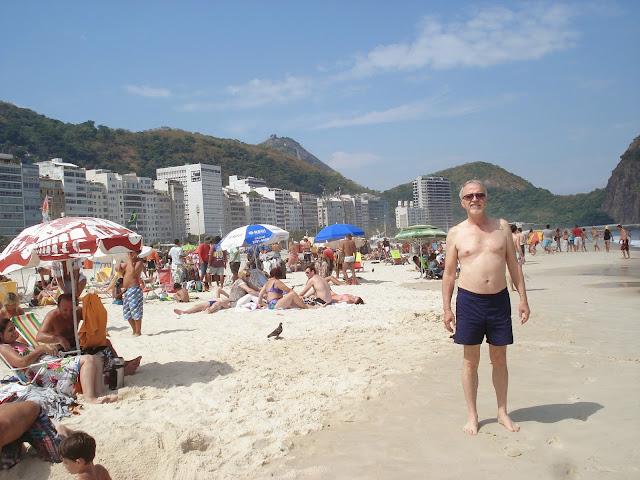 Copacabana Plajı, Rio de Janeiro, Brezilya