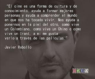 La frase: Javier Rebollo
