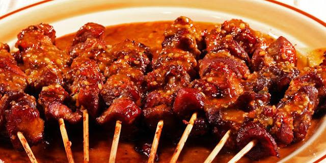Resep Masakan Sate daging kambing pedas