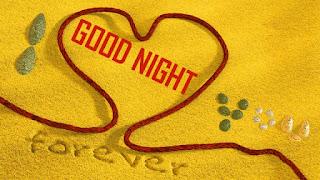 good night kiss to love