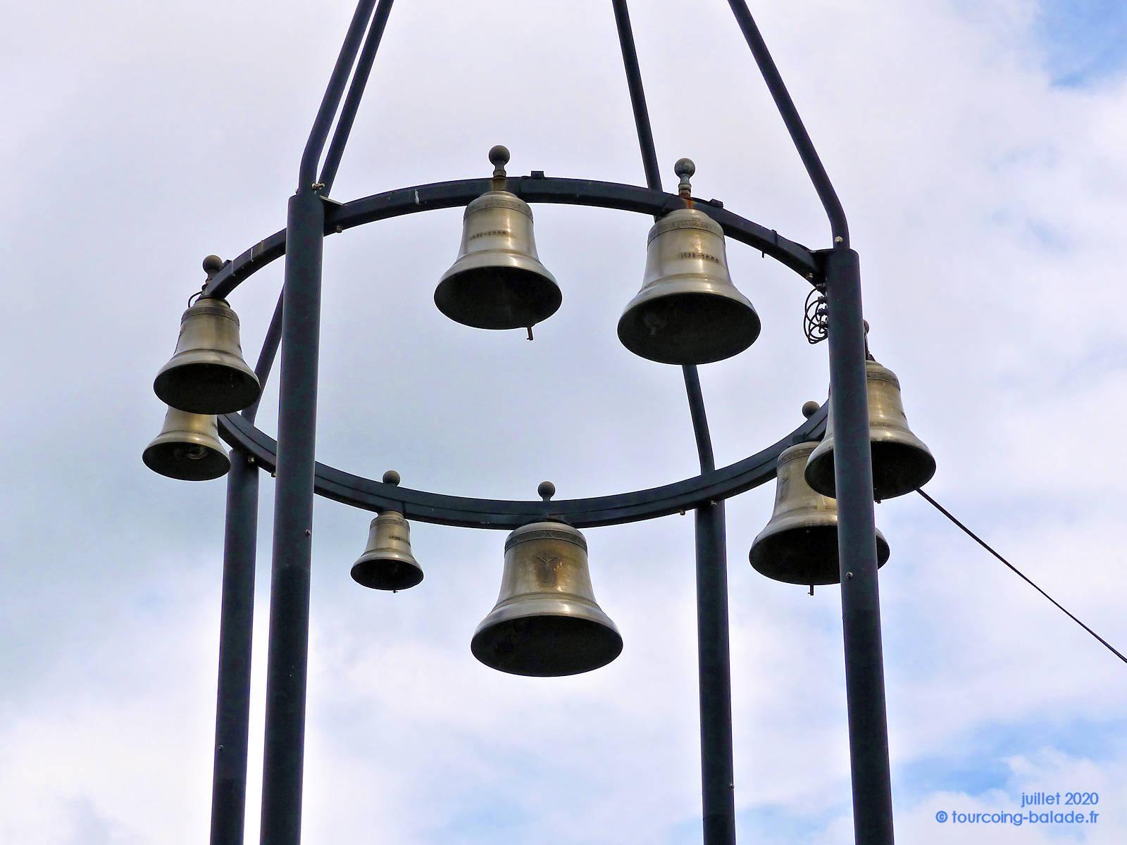 Carillon de l'église Saint Joseph de Tourcoing, 2020