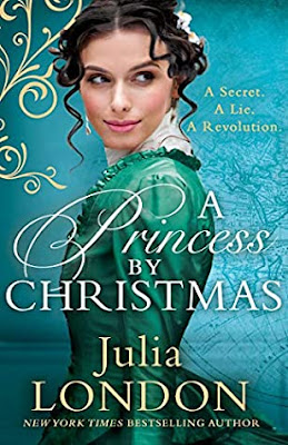 A Princess By Christmas by Julia London cover