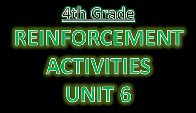 Reinforcement Exercises Unit 6