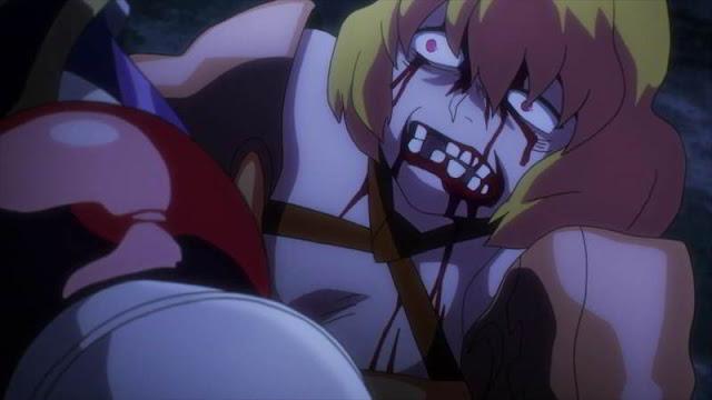 pelea anime overlord
