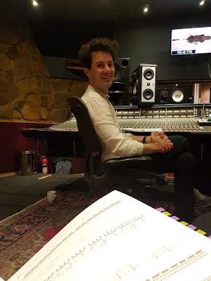 Dream Horse: Benjamin Woodgates at small ensemble sessions, Livingston Studios