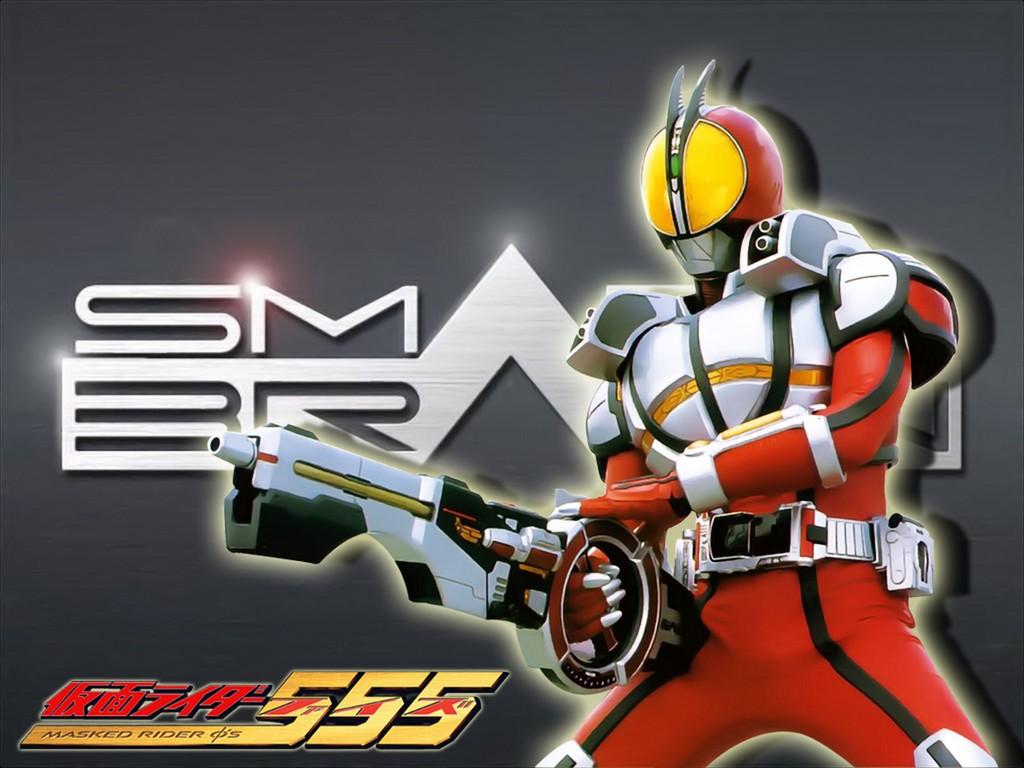 Faiz Blaster Form - Tokusatsu Wallpaper