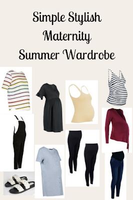 Simple Stylish Maternity Summer Wardrobe