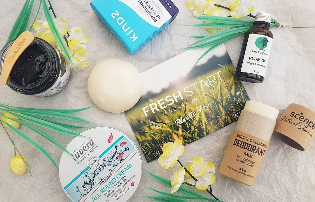 The Natural Beauty Box - Fresh Start Plastic Free Review