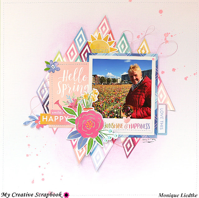 Hello Spring | Step-By-Step for My Creative Scrapbook