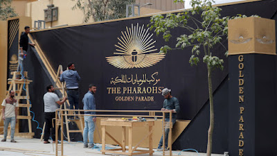 تفاصيل موكب الموميات الملكية من المتحف المصري إلى متحف الحضارة