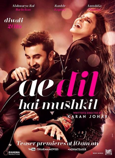 Ae Dil Hai Mushkil Second Look Poster