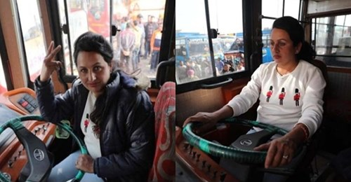 कश्मीर की पहली महिला बस ड्राइवर जिनकी कहानी हर किसी को जाननी चाहिए!
