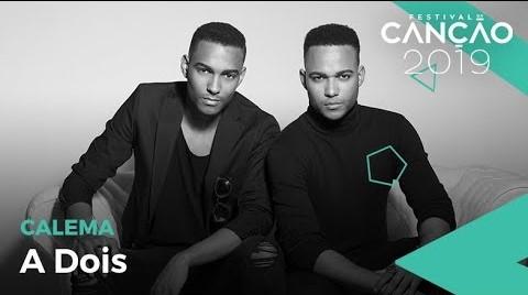 """Para 1.ª semifinal  do Festival da Canção marcada para o dia 16 de fevereiro, os Calema lançam a nova canção de estreia intitulada """"A Dois""""."""