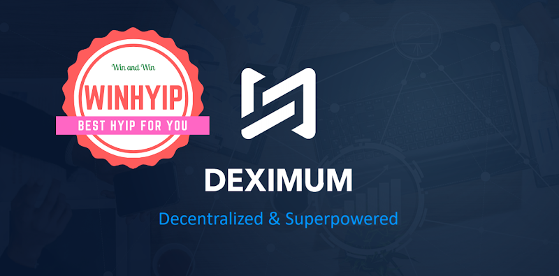 Deximum Me review - Sep 06/2021 - From 0.16% daily - Instant