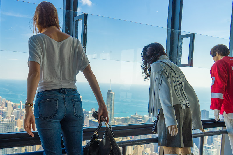 Skydeck Ferris Bueller's Day Off Girls' Weekend in Chicago