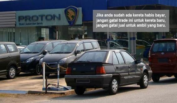 Jangan Trade In Kereta Habis Bayar Selagi Anda Belum Baca Artikel Ini (Mohon Kongsikan)