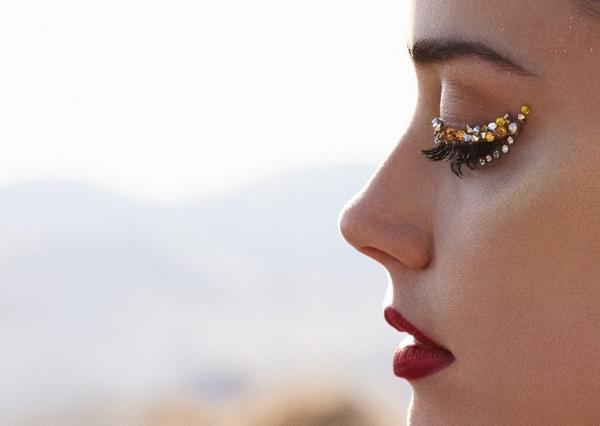 Amber Heard makeup face
