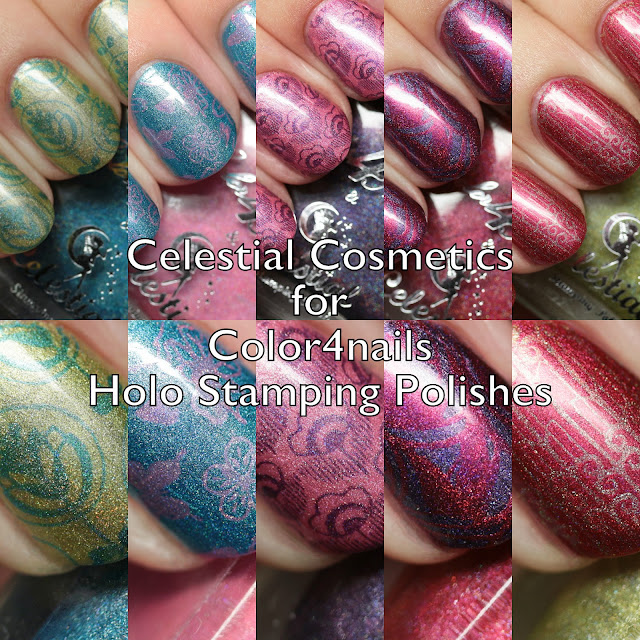 Celestial Cosmetics for Color4nails Holo Stamping Polishes
