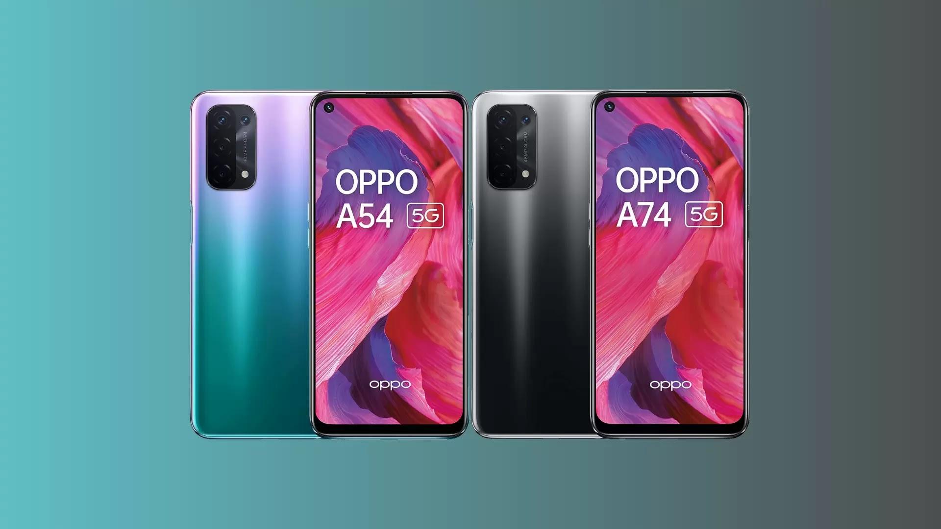 ইউরোপে হল লঞ্চ Oppo A54 5G এবং Oppo A74 5G স্মার্টফোন দুটো, জানুন মূল্য এবং স্পেসিফিকেশন
