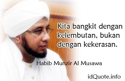 Kata Mutiara Habib Munzir Al Musawa Meme Comic Santri