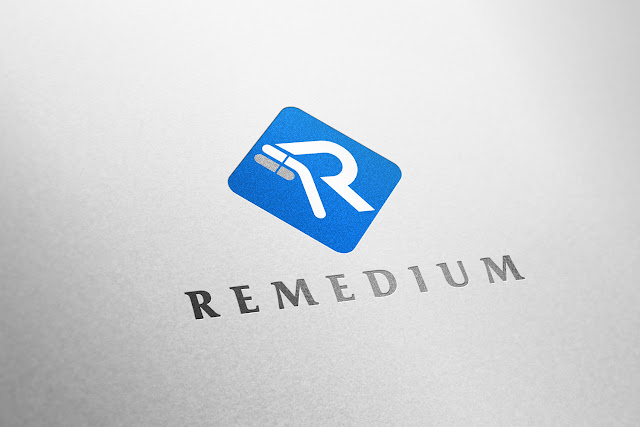 medikal ilaç logo tasarımı