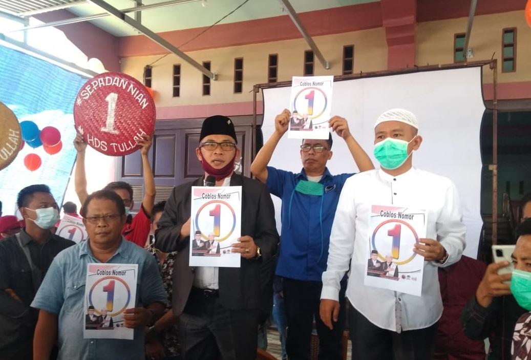 KPU Muratara Umumkan Nomor Urut Paslon, Tim Sepadan Nian Langsung Bersholawat