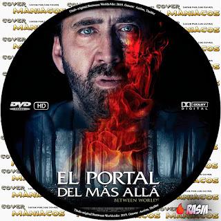 GALLETA EL PORTAL DEL MAS ALLA - BETWEEN WORLDS - 2019 [COVER DVD]