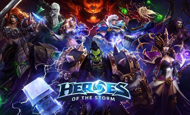 heroes of the storm moba game vs league of legends