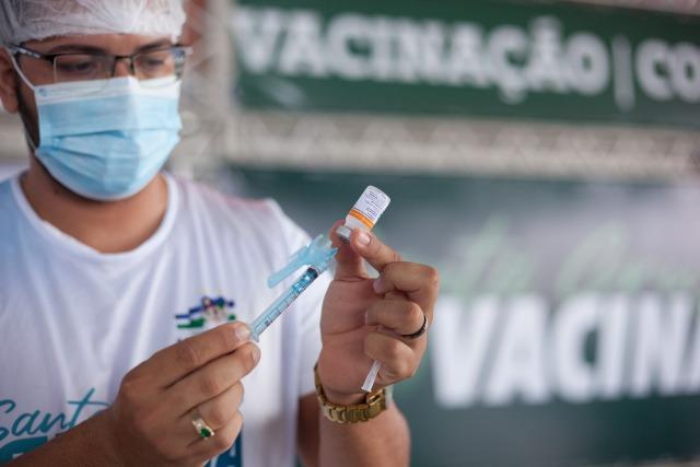 Santa Cruz realiza mobilização para aplicação da 2ª dose de vacina em atraso