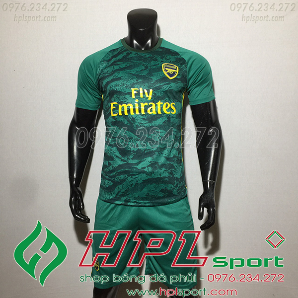 Áo câu lạc bộ  Arsenal màu xanh 2020