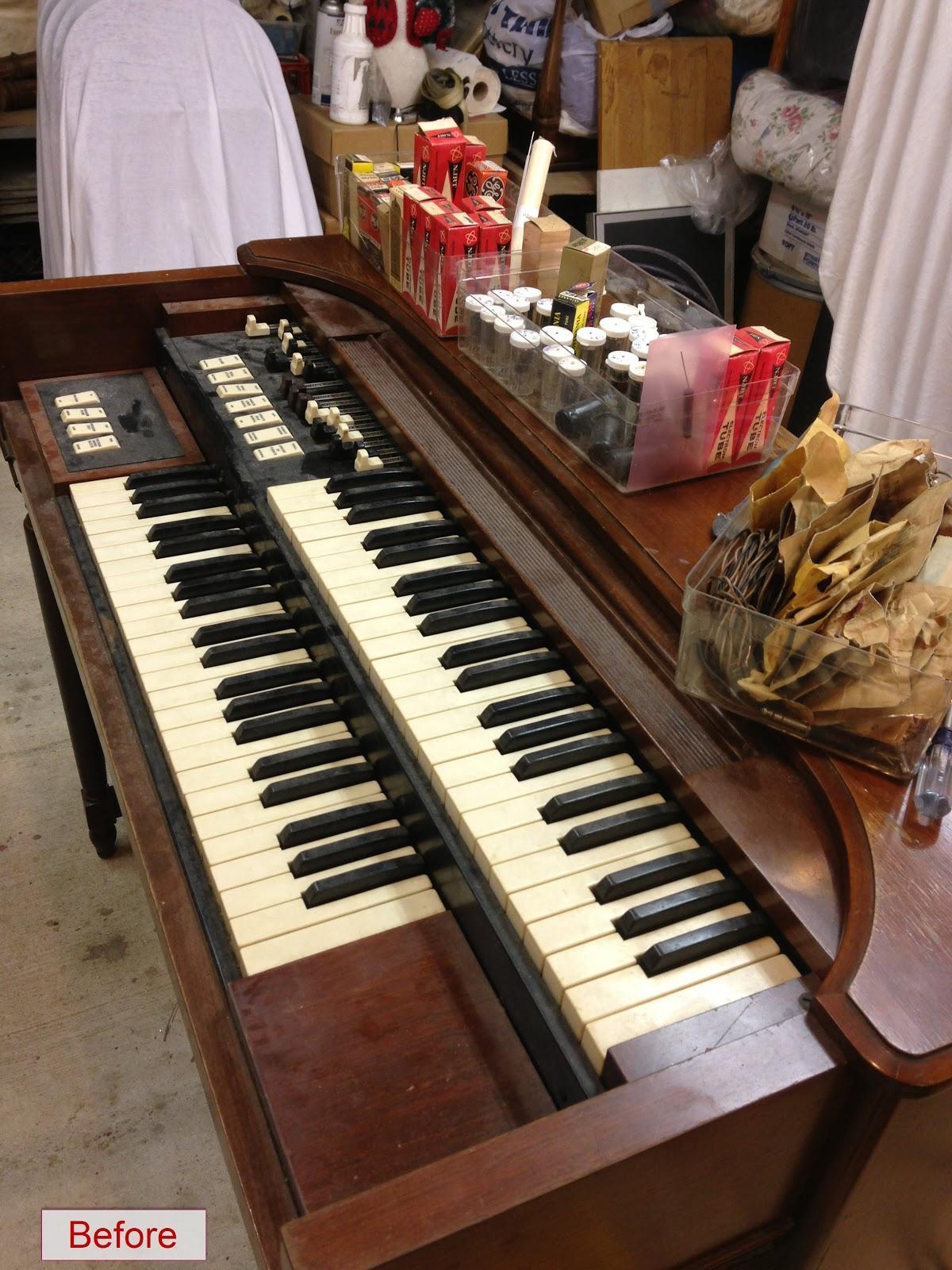 Music From Marshall: Hammond M3 Organ Restoration