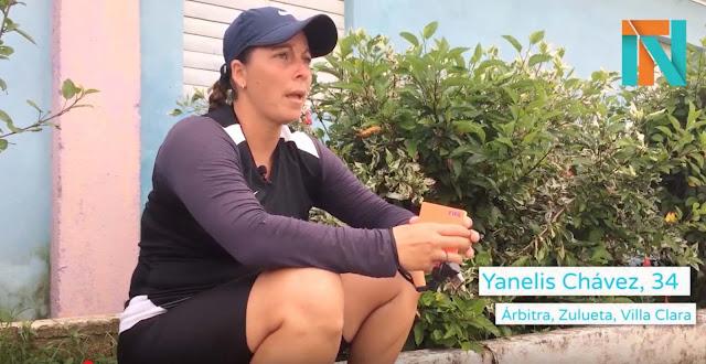 La árbitra cubana Yanely Chávez, una de las figuras más prometedoras y jóvenes del fútbol femenil en la Isla, denunció que la Federación Cubana de Fútbol (FCF) le retiró su aval de la FIFA