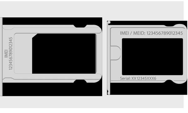 cara cek imei iPhone dari penempatan kartu sim