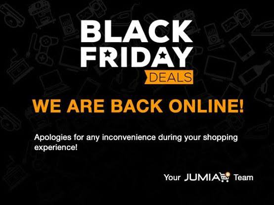 Jumia Black Friday Problems
