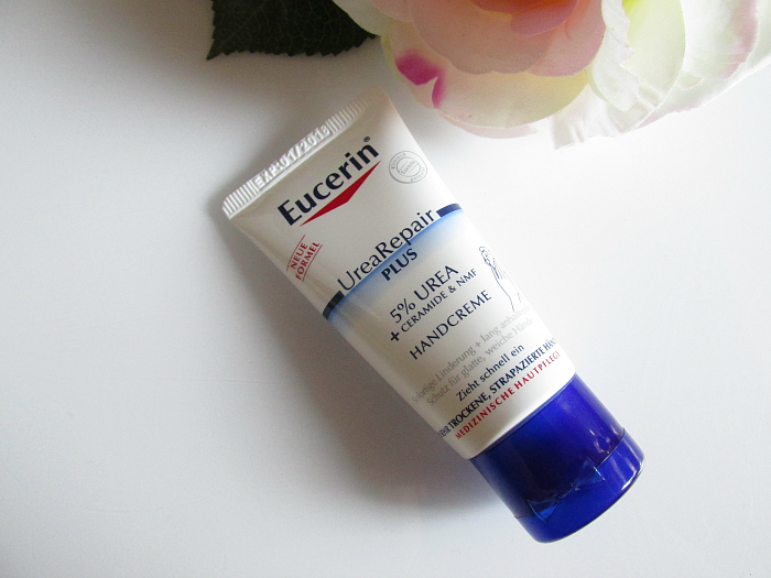 EUCERIN UreaRepair PLUS Handcreme - 30ml - ca. 4.- Euro - trockene Hände Winter, Review